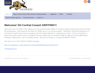 convalhockey.com screenshot