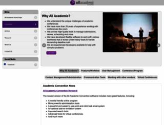 convention2.allacademic.com screenshot