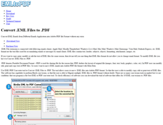 convertfiles.emltopdf.com screenshot