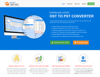 convertostpst.com screenshot