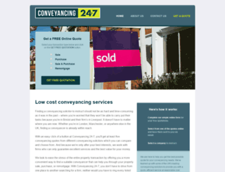 conveyancing24-7.com screenshot