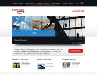 conwayscleaning.ie screenshot
