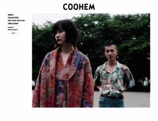 coohem.jp screenshot