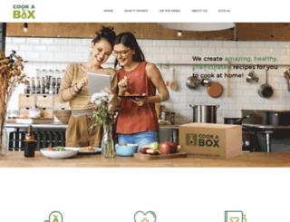 cookabox.com screenshot