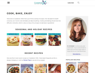 cookaholicwife.com screenshot