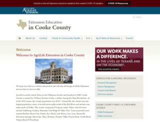 cooke.agrilife.org screenshot