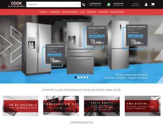 cookeletroraro.com.br screenshot