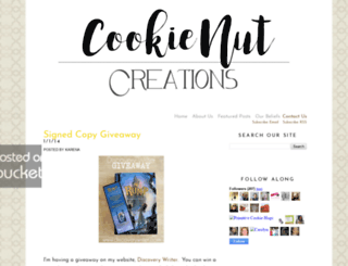 cookienut.blogspot.com screenshot
