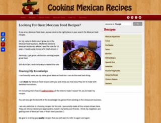 cooking-mexican-recipes.com screenshot