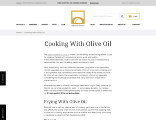 cooking.oliveoillovers.com screenshot