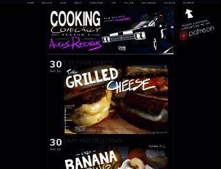 cookingcomically.com screenshot