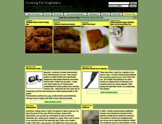cookingforengineers.com screenshot
