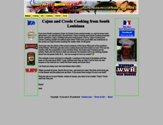 cookinglouisiana.com screenshot