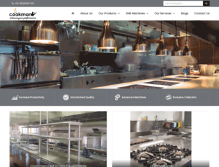 cookmanequipments.com screenshot
