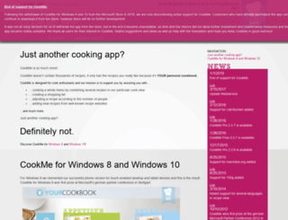 cookmeapp.com screenshot