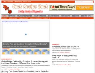 cookrecipebook.com screenshot