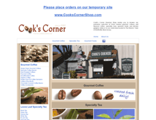 cookscorner.net screenshot