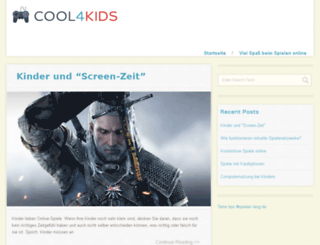 cool4kids.at screenshot