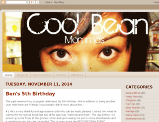 coolbeanmommas.com screenshot