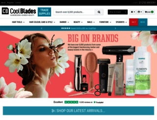coolblades.co.uk screenshot