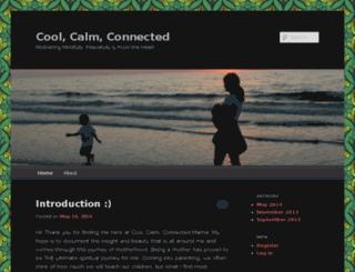 coolcalmconnectedmama.com screenshot