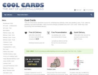 coolcards.co.uk screenshot