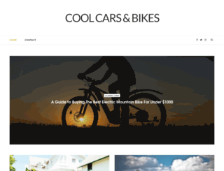 coolcarsandbikes.com screenshot