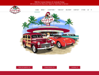 coolcatcafe.com screenshot