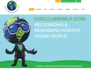 coolclubworld.com screenshot