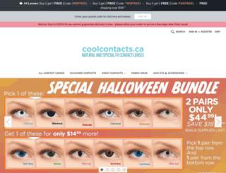 coolcontacts.ca screenshot