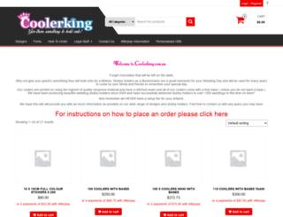 coolerking.com.au screenshot