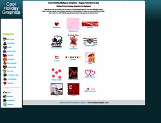coolholidaygraphics.com screenshot