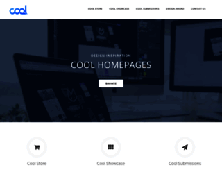 coolhomepages.com screenshot