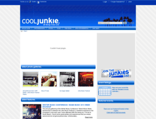 cooljunkie.com screenshot