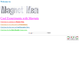 coolmagnetman.com screenshot