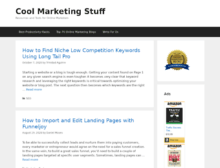 coolmarketingstuff.com screenshot