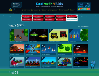 coolmath4kids.com screenshot