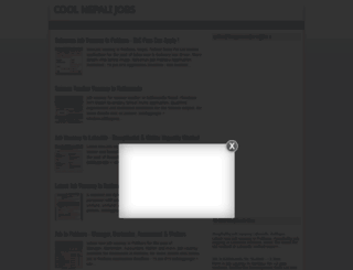 coolnepalijobs.blogspot.com screenshot
