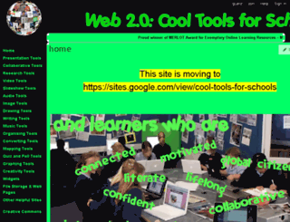cooltoolsforschools.wikispaces.com screenshot
