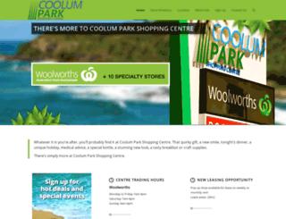 coolumpark.com.au screenshot