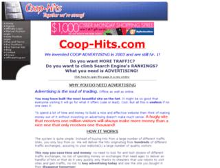 coop-hits.com screenshot