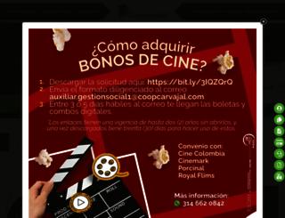 coopcarvajal.com screenshot