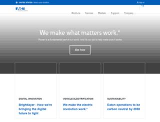 cooperindustries.com screenshot