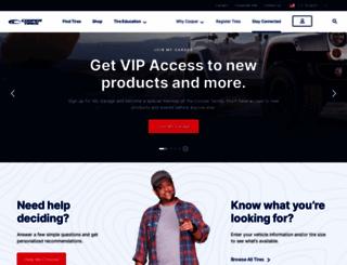coopertire.com screenshot