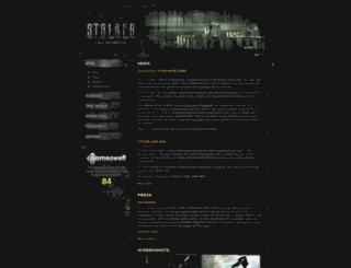 cop.stalker-game.com screenshot