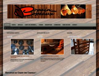 copaindescopeaux.fr screenshot