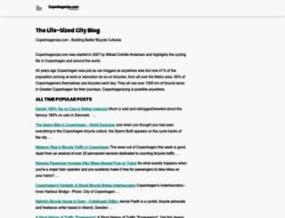 copenhagenize.com screenshot