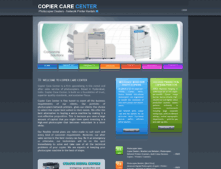 copiercare.in screenshot