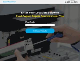 copierrepairman.com screenshot