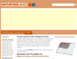 copii.meetmenow.ro screenshot